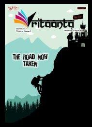 Vritaanta Volume 4 Issue 1 March 2017