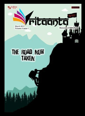 Vritaanta Volume 4 Issue 1 March 2017