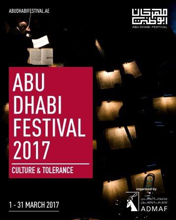 ABU DHABI FESTIVAL 2017