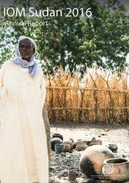 IOM Sudan annual report 2016