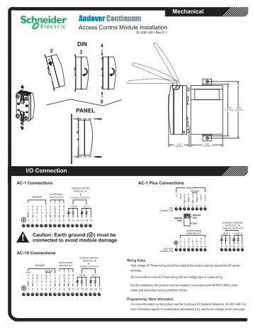 dsx access control installation manual