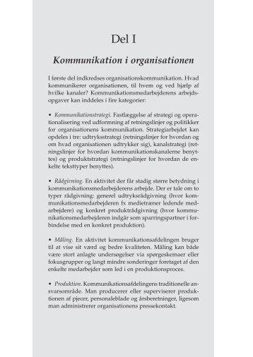 Kommunikation i organisationen - Anne Katrine Lund