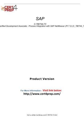 C-TBIT44-73 Certification Tests