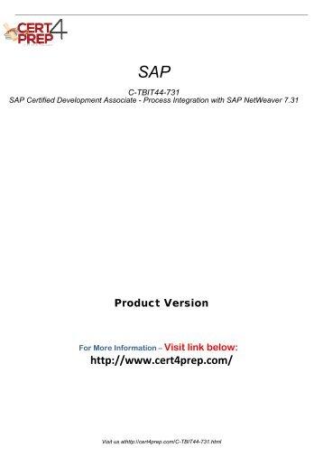 C-TBIT44-731 Certification Tests