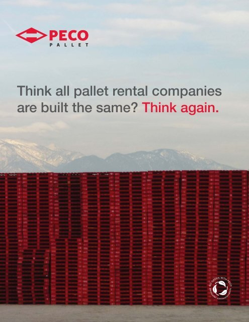 RED<>LINK - PECO Pallet