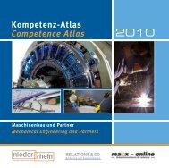 Kompetenz-Atlas Maschinenbau und Partner - WFMG-Home ...