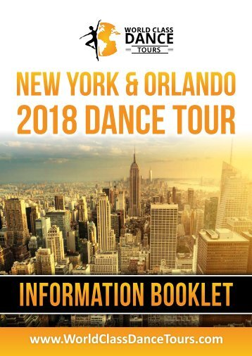 INFO Book NYC – ORLANDO 6-3-17