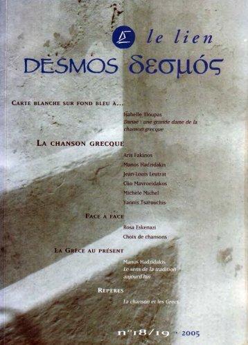 Le lien Desmos 18 - 19 - 2005 OPT