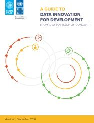 A GUIDE TO DATA INNOVATION FOR DEVELOPMENT