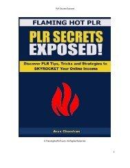 PLR+Secrets+Exposed