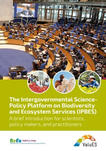 Policy Platform on Biodiversity and Ecosystem Services (IPBES)