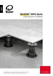 Prijslijst Buzon DPH-serie 2018