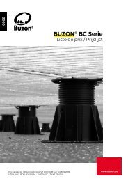 Prijslijst Buzon BC-serie 2018