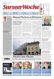 Ausgabe Surseer Woche 27. Oktober 2011 - Trienger Woche ...
