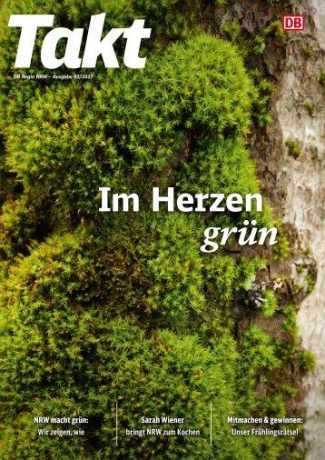 Takt Frühling NRW: Im Herzen grün