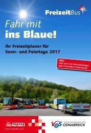 FreizeitBus Broschüre 2017