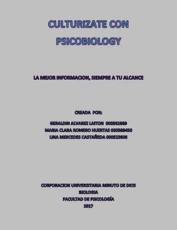 REVISTA DE BIOLOGIA