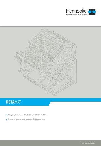 TECHNICAL INSULATION LINES - ROTAMAT