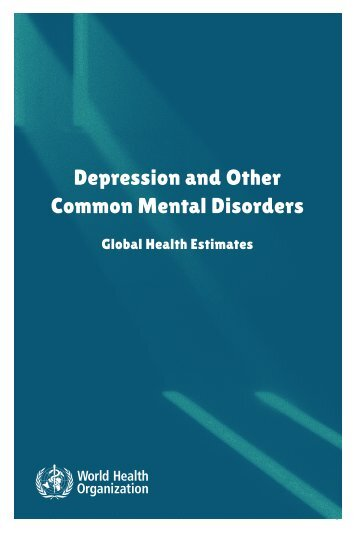 Depression and Other Common Mental Disorders