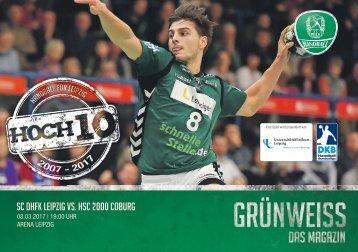 GRÜNWEISS – das Magazin der DHfK-Handballer – Heft 12 – Saison 2016/17