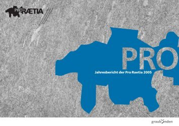 Mitglieder - Pro Raetia