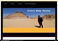 cairo day tours with let`s eXPLORE eGYPT