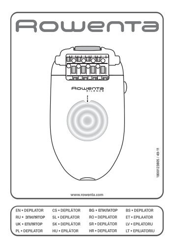 Rowenta HAIR REMOVER EP5340 - HAIR REMOVER EP5340 Magyar (Hungarian)