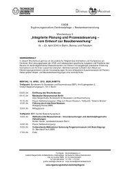 """""""Integrierte Planung und Prozesssteuerung – vom Entwurf zur ..."""