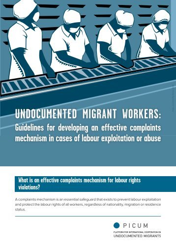 UNDOCUMENTED MIGRANT WORKERS