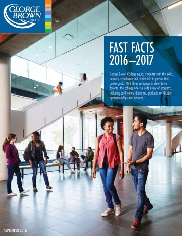 FAST FACTS 2016–2017