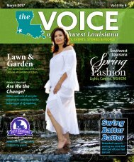 The Voice of Southwest Louisiana March 2017 Issue