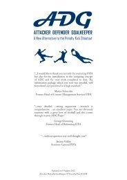 ADG - Attacker Defender Goalkeeper