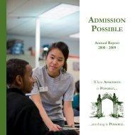 O S S I B L E Annual Report - College Possible