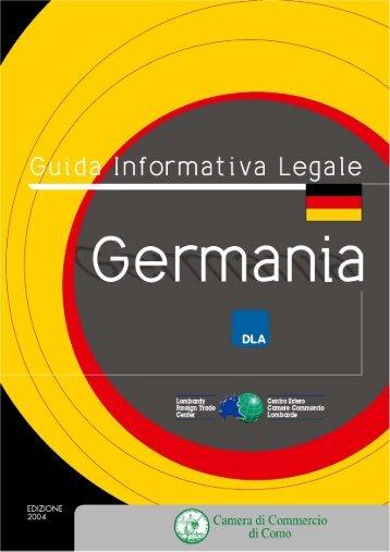 Germania - Camere di Commercio