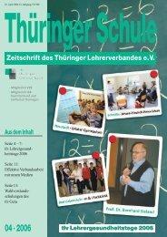 tlv Lehrergesundheitstage 2006 - VBE Verband Bildung und ...