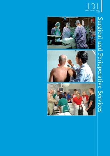 Surgical and Perioperative Services - Queensland  Health ...