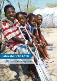 Jahresabschluss 2010 - UNO-Flüchtlingshilfe