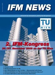2. IFM-Kongress - Institute TU Wien - Technische Universität Wien
