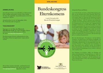 Bundeskongress Elternkonsens
