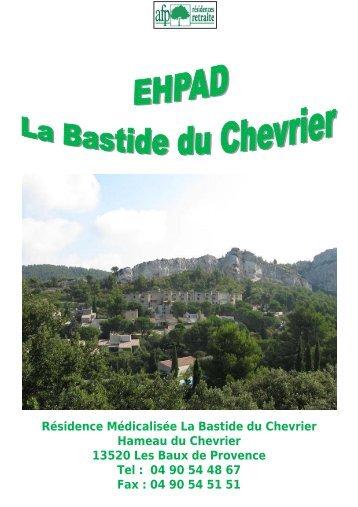 EHPAD La Bastide du Chevrier - AFP, Résidences retraite