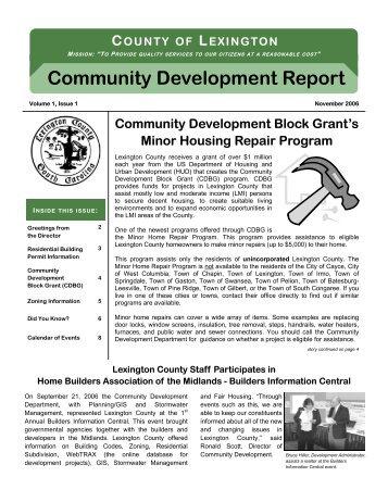 October Newsletter Revised (for e-mail).pub - Lexington County