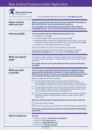 Information Sheets ManageMyHealth Enrolment Forms