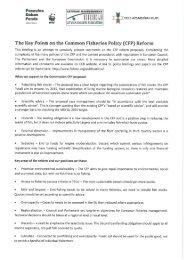 Latvian NGO CFP reform priorities