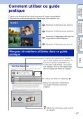 Sony DSC-T99D - DSC-T99D Istruzioni per l'uso Francese - Page 2