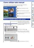 Sony DSC-T99D - DSC-T99D Istruzioni per l'uso Portoghese - Page 2