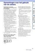 Sony DSC-T99D - DSC-T99D Istruzioni per l'uso Olandese - Page 3