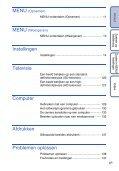 Sony DSC-T99D - DSC-T99D Istruzioni per l'uso Olandese - Page 6
