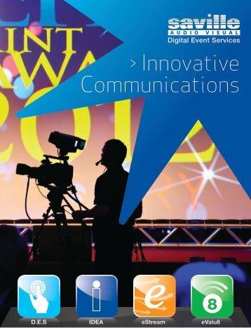 Innovative Communications - Saville Audio Visual