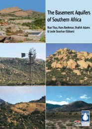 The Basement Aquifers of Southern Africa - Water Research ...
