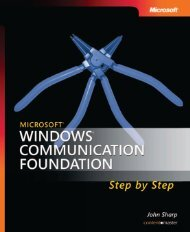 Microsoft Windows Communication Foundation Step by ... - A2Z Dotnet